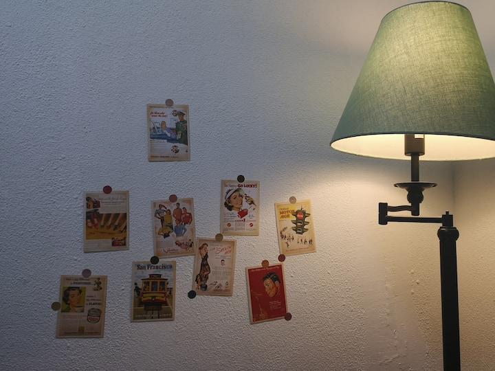 #Minimal Art# 上下杭入户花园房/拍照场地/达道地铁口最近的小区/毕业旅行最佳选择
