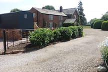 Newton Hall Shepherds Hut