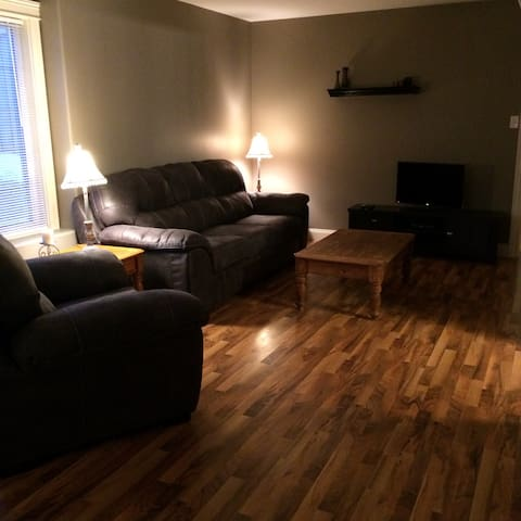 Large private one bedroom apartment - Fredericton