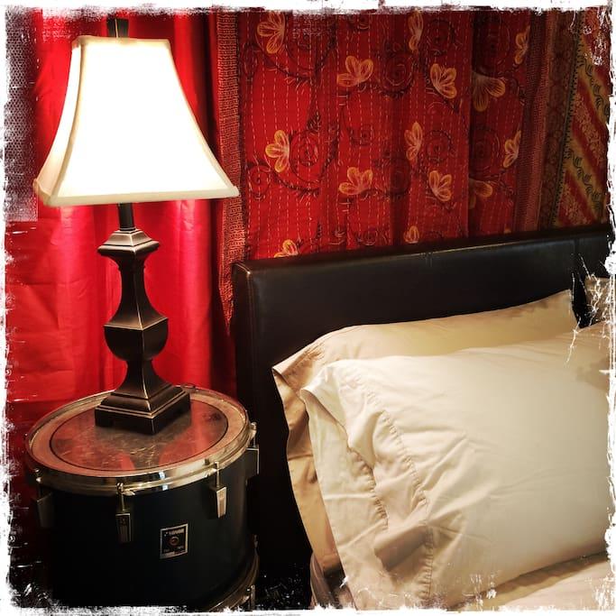 Drum Head Night stand
