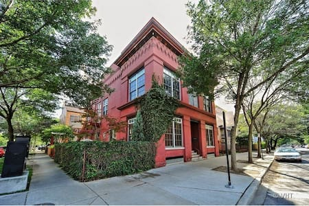 Private 1BR, Full Bath in Historic Loft Building - Chicago - House