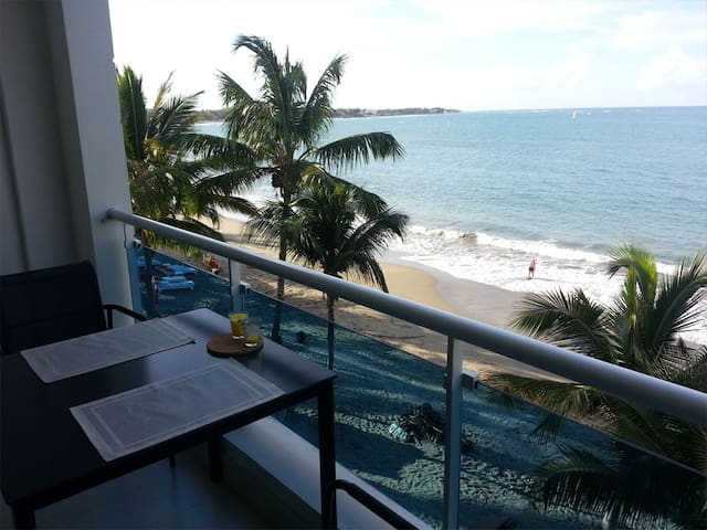 Beach side apartment, Cabarete bay, Morning Breeze