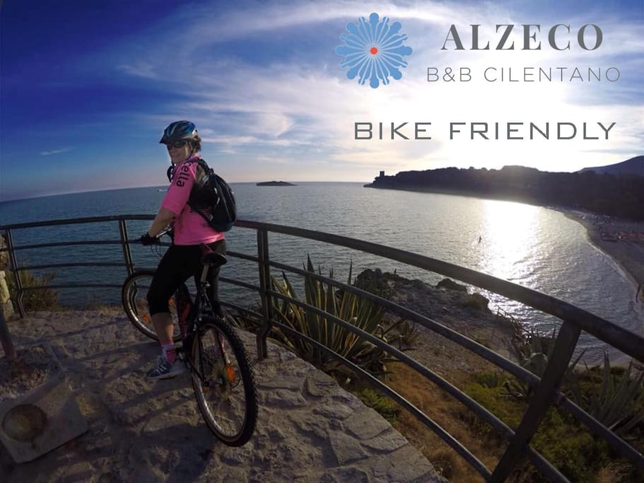Bike friendly (in foto Marina di Camerota)