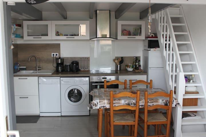 Maison T2 bordure du lac marin - Leucate - Dom