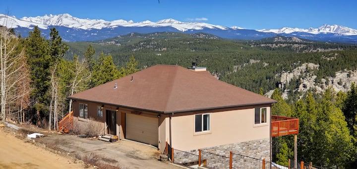Grandview Lodge at 8400 ft near Golden/Boulder, CO