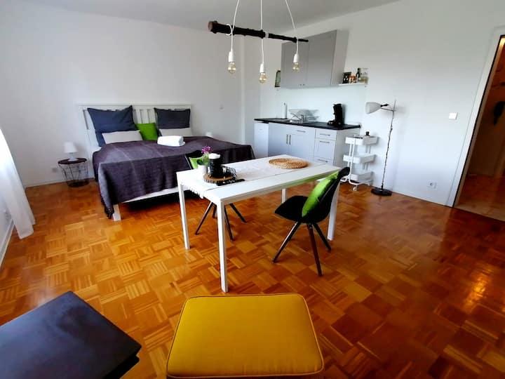 Apartment am Fuße des Schwarzwalds - zentrale Lage