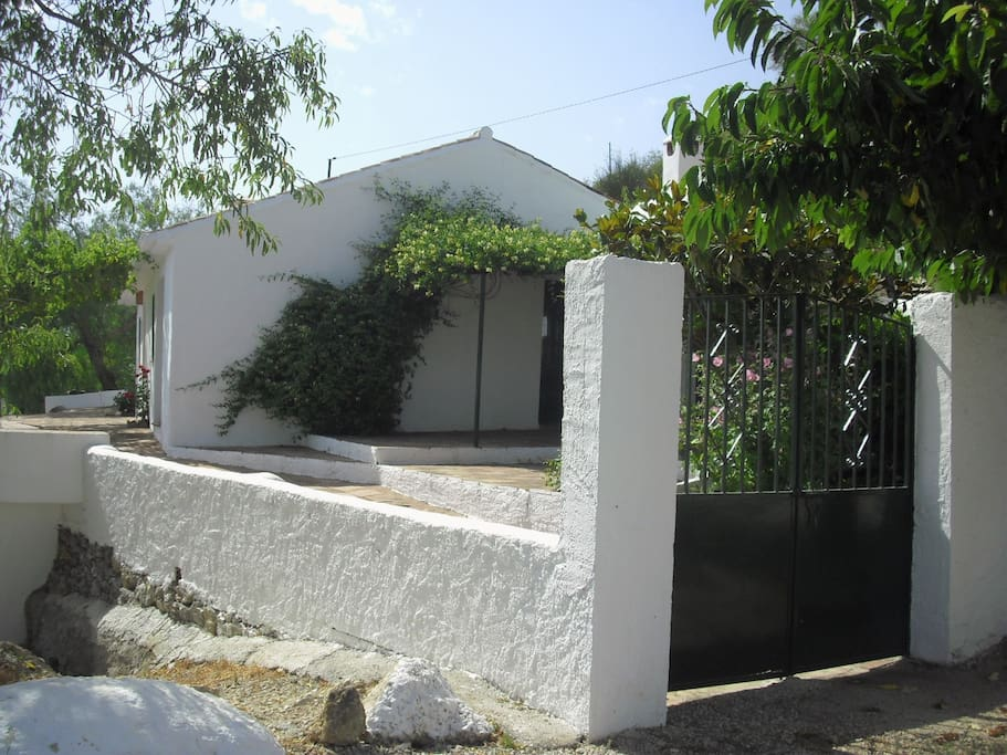 Casa Pepa has a gated private entrance and is fully enclosed with fencing