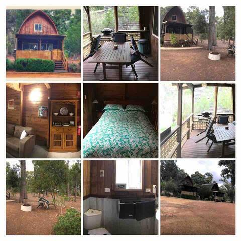 Jarrah Cedar Loft Cabin