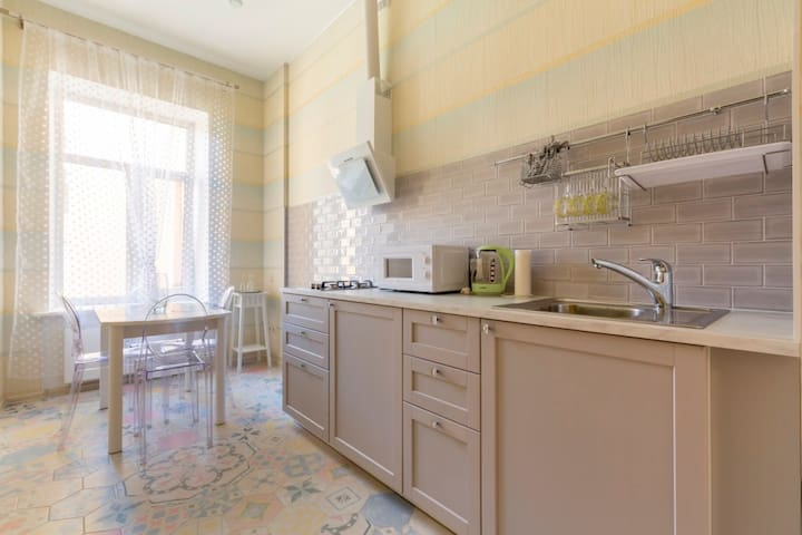 Apartment near the Hermitage in Spb
