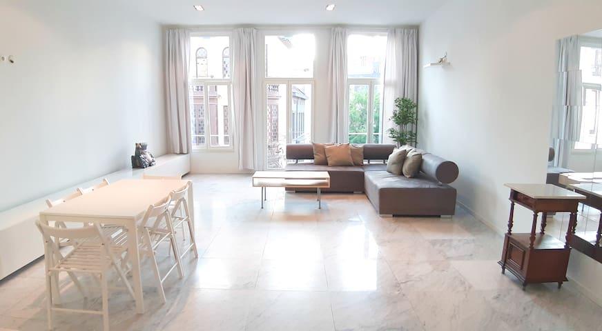Luxury Three Bedroom Apartment. Center of Antwerp.
