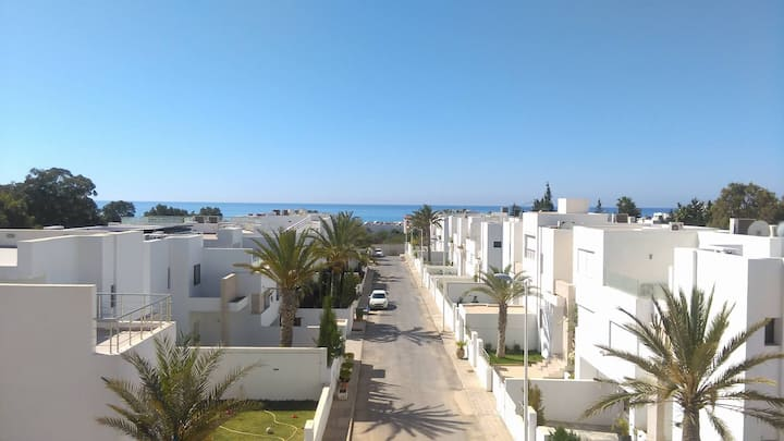 New furnished apartment with panoramic view