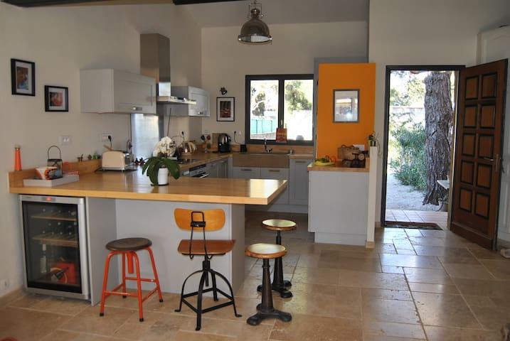 Maison  à 15 mins des plages - Cournonterral - Villa