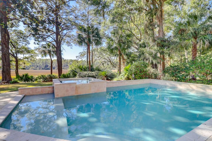 Your lovely home includes a private pool and spa.