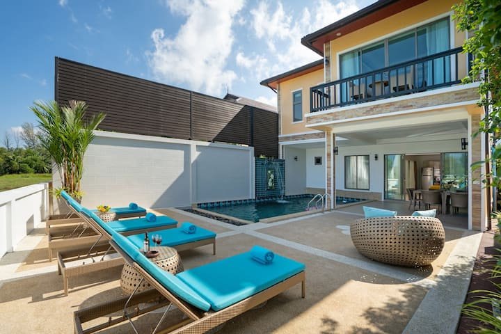 Amazing 3 Bedroom Villa with Private Pool @BangTao