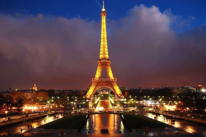 Eiffel Tower - Champs-Elysées - 4 people