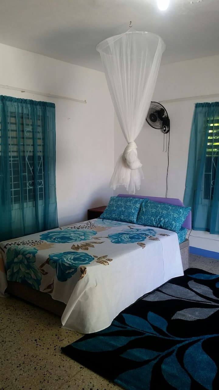 Lucea, Hanover, JA. Private - self contained room.