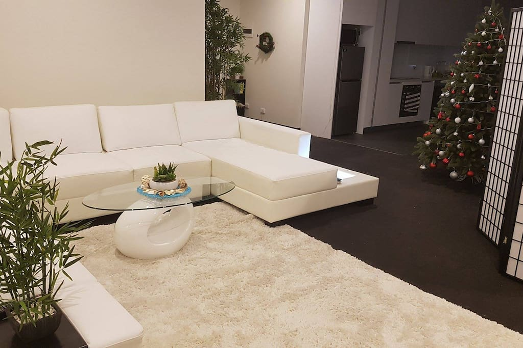 Great lounge setting you can relax in.
