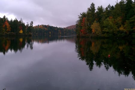 Loon Lake retreat in the heart of the Adirondacks - Loon Lake - Gästhus