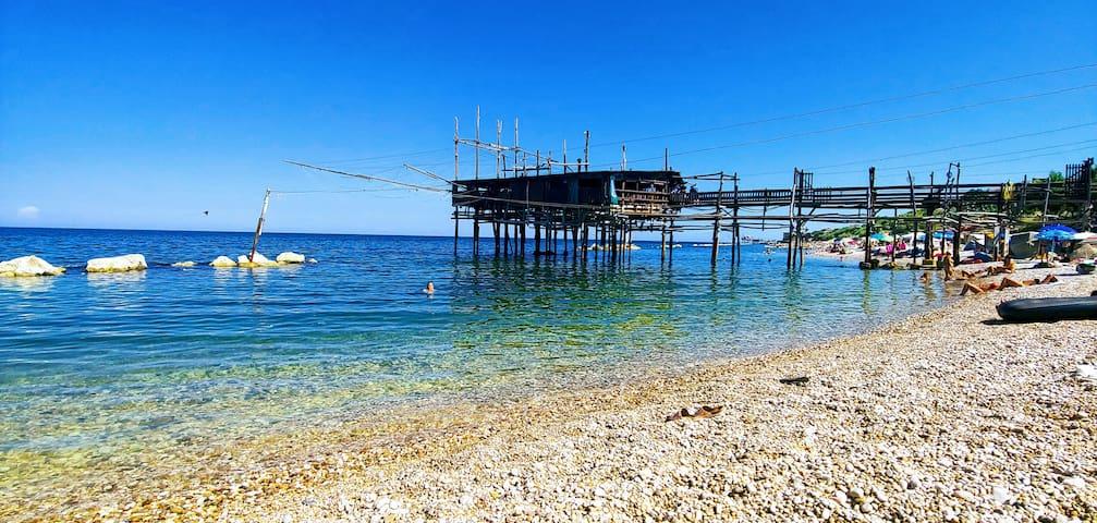Appartamento per vacanze sulla costa dei trabocchi