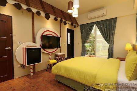 可選擇現代與鄉村風的房型 每個房間都是民宿主人用心 設計的 - 台東市
