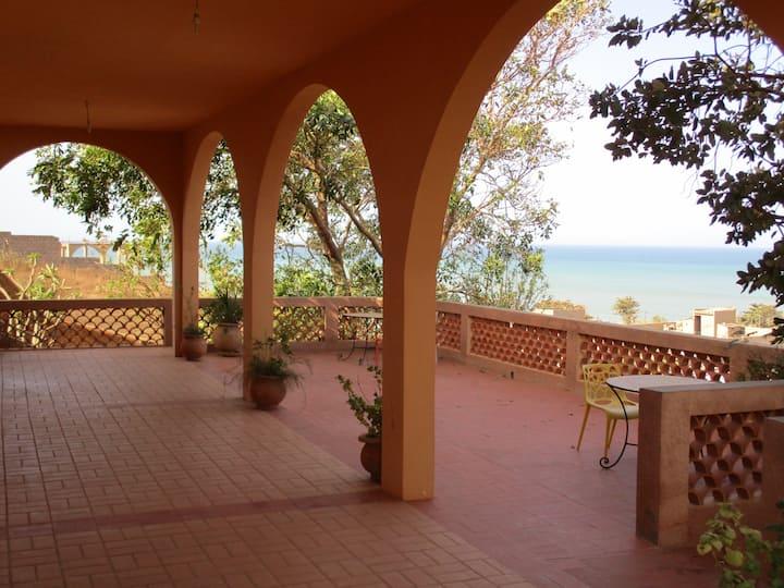 Magnifique villa vue panoramique  sur mer