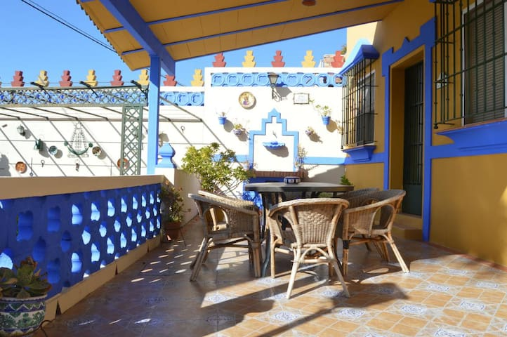 Casa confortable, entre Sevilla y Doñana - Aznalcázar - Holiday home