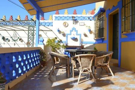 Casa confortable, entre Sevilla y Doñana - Aznalcázar - บ้านพักตากอากาศ