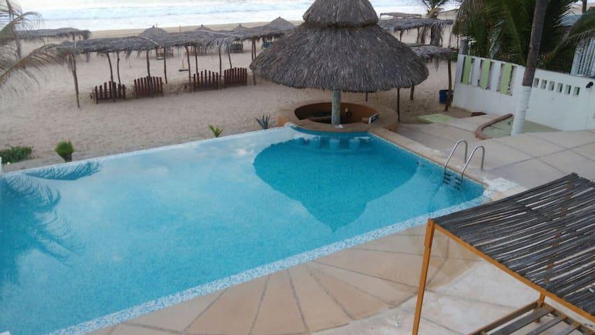 Hermosa Suite frente al Mar/Pie de la Cuesta/Gro.