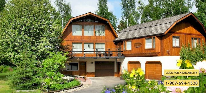 Alaska Chalet Bed &  Breakfast: Garden Suite