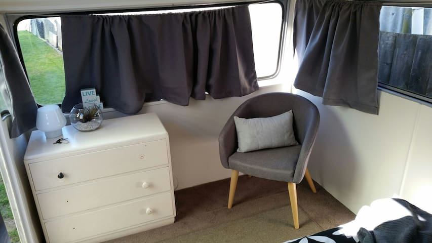 drawers and seat