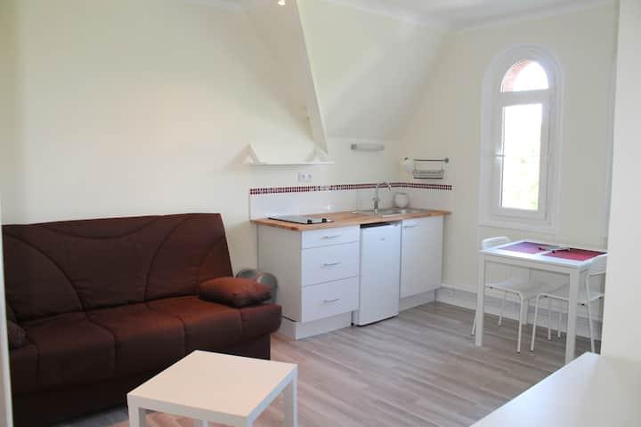 Studio à 2 pas du château de Compiègne