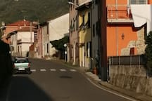 In centro di un paese tipico ligurese In the center of a typical Liguarian village