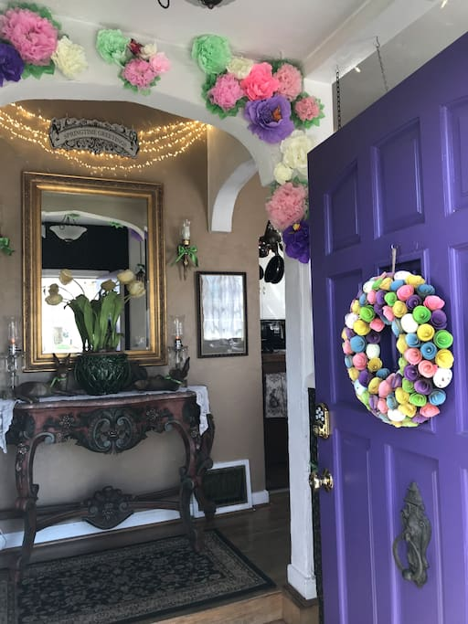 April/May- Entry w/front door