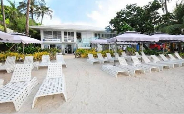 Studio Room in Beachfront Resort Boracay Station 1