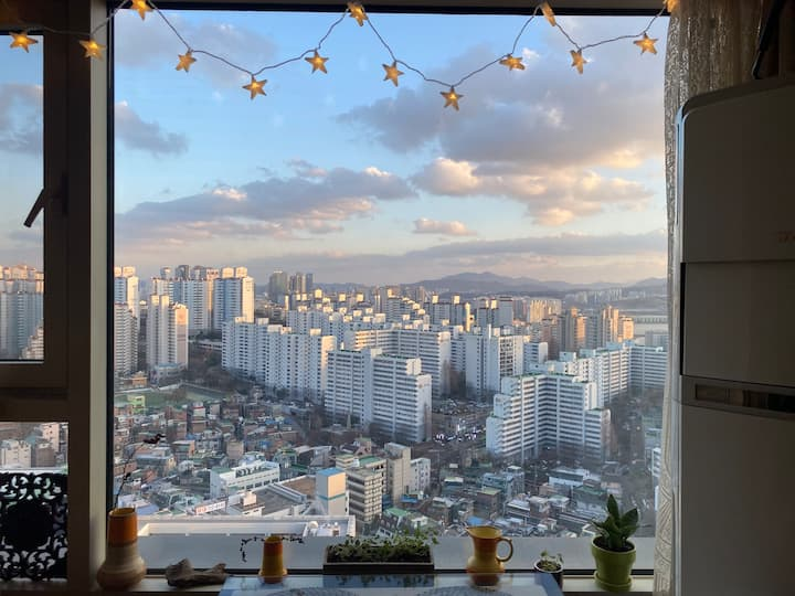Perfect place to enjoy Seoul with remarkable view