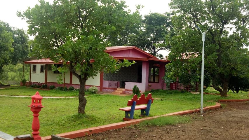 Rose.. 2bhk AC bungalow with private pool
