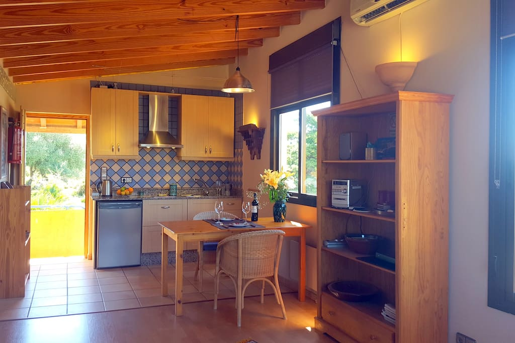 Loft >>Valdevaqueros >>  Fully equipped kitchen