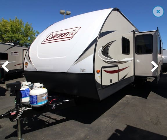 Brand New Luxurious travel trailer stay