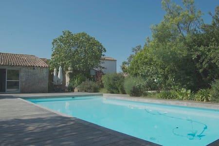 Villa avec jardin et piscine - Sainte-Marie-de-Ré - Villa
