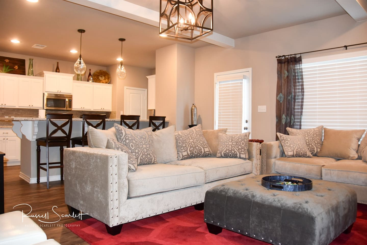 Stylish furnishings and decor! Comfortable place to relax and enjoy yourself.