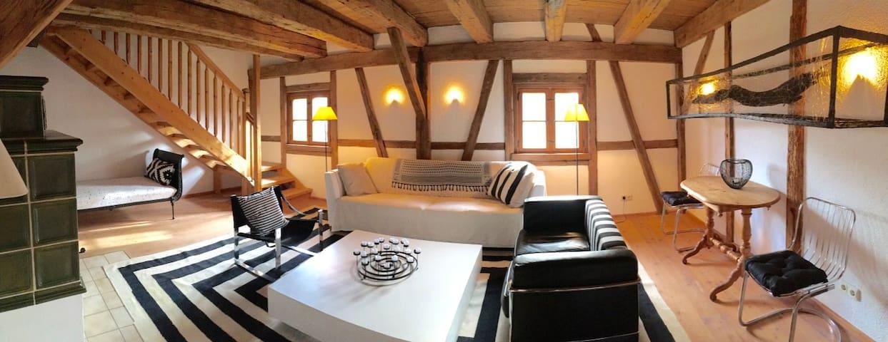 gemütlich - voll ausgestattet - perfekt gelegen - Holzkirchen - Apartament