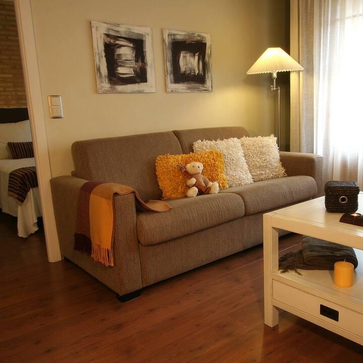 Precioso apartamento rural Uncastillo