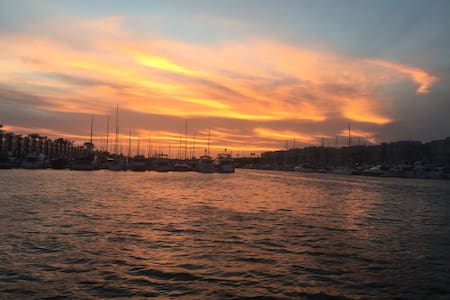Great Sunset from Studio the Water - Marina del Rey - Barca