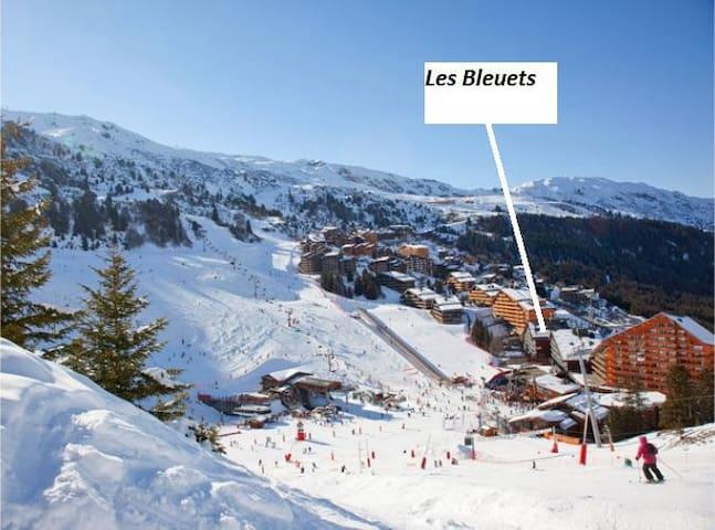 Méribel Mottaret au pied des pistes - Les Allues - Apartment