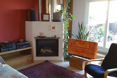 Quiet & Spacious Penthouse in Girona city centre - Girona - Departamento