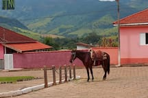 Distrito de Luminosa (pertencente a Brasópolis), delicioso vilarejo para visitar durante a sua estadia em São Bento do Sapucaí, lá pé possível almoçar em um alambique, o Alambique Luminosa.