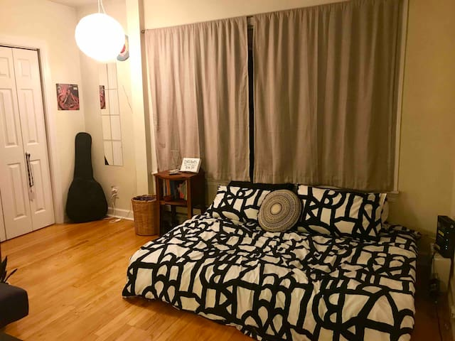Spacious Lincoln Park Studio! HALLOWEEN DISCOUNT