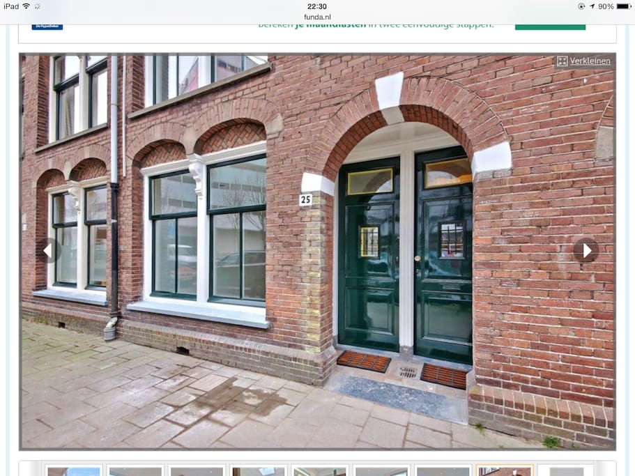 Two floor apartment in amsterdam apartments for rent in for Two floor apartment