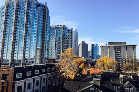 Private room in uptown condo - Charlotte - Kondominium