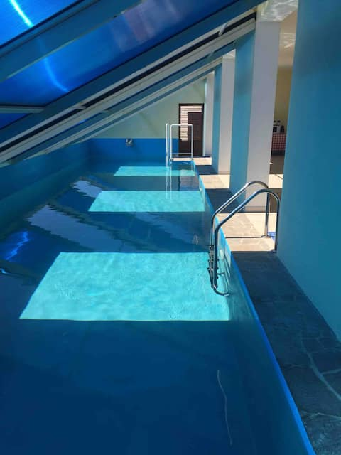 Luxury apartment with private pool